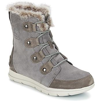 Chaussures Femme Boots Sorel SOREL EXPLORER JOAN Gris