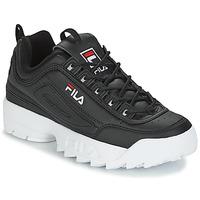 Schuhe Herren Sneaker Low Fila DISRUPTOR LOW Schwarz