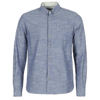 Vêtements Homme Chemises manches longues Casual Attitude IPODRUM Bleu