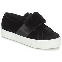 Schuhe Damen Sneaker Low Superga 2750-LEAPATENTW Schwarz