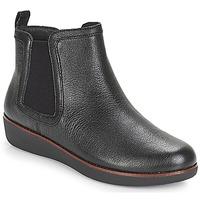 Schuhe Damen Boots FitFlop CHAI Schwarz
