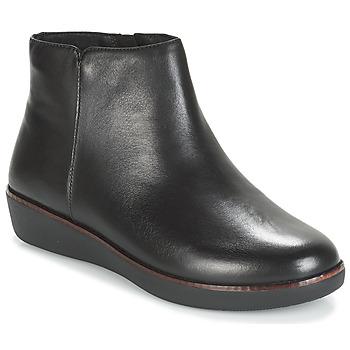 Schuhe Damen Boots FitFlop ZIGGY ZIP Schwarz