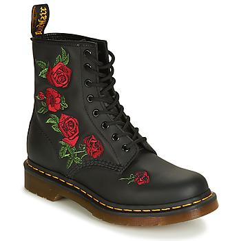 Chaussures Femme Boots Dr Martens 1460 VONDA Noir