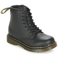 Schuhe Kinder Boots Dr Martens 1460 CADET Schwarz