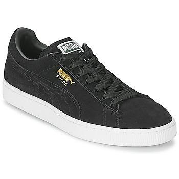 Chaussures Baskets basses Puma SUEDE CLASSIC + Noir