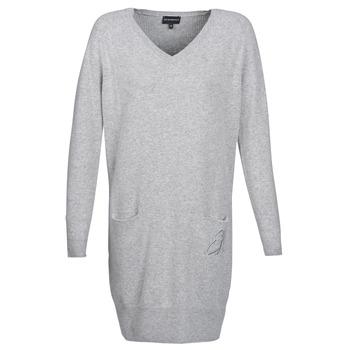 Vêtements Femme Robes courtes Emporio Armani CROWA Gris