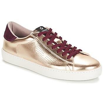 Schuhe Damen Sneaker Low Victoria DEPORTIVO METALIZADO Gold