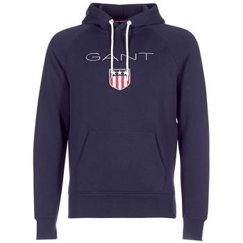 Kleidung Herren Sweatshirts Gant GANT SHIELD SWEAT HOODIE Marine