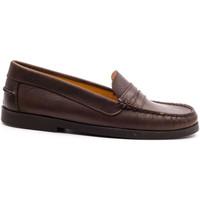 Chaussures Enfant Mocassins Boni & Sidonie Mocassins en cuir - HORACE Marron
