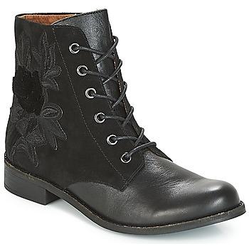 Schuhe Damen Boots Karston ACAMI Schwarz