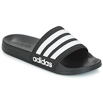 Schuhe Pantoletten adidas Performance ADILETTE SHOWER Schwarz