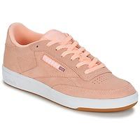 Schuhe Damen Sneaker Low Reebok Classic CLUB C 85 Rose