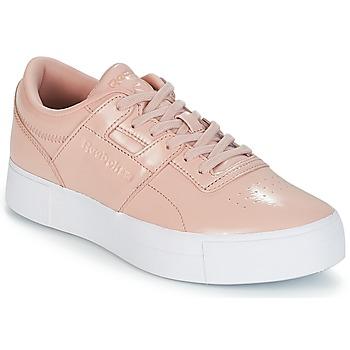 Schuhe Damen Sneaker Low Reebok Classic WORKOUT LO FVS Rose
