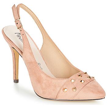 Schuhe Damen Sandalen / Sandaletten Menbur DINITARSA Beige / Rose