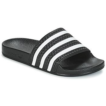 Schuhe Pantoletten adidas Originals ADILETTE Weiß