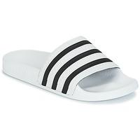 Scarpe ciabatte adidas Originals ADILETTE Bianco / Nero