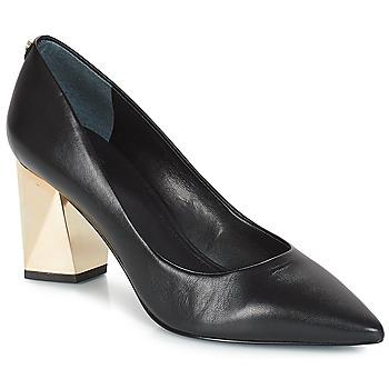 Chaussures Femme Escarpins Guess BAFI Noir / Doré