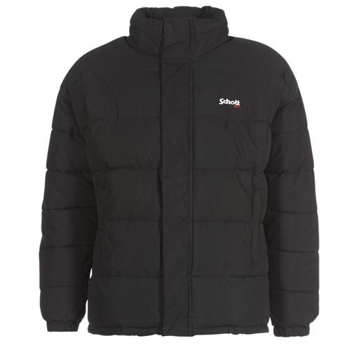 Vêtements Doudounes Schott NEBRASKA Noir