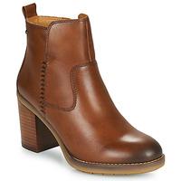 Chaussures Femme Bottines Pikolinos POMPEYA W9T Camel