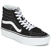 Scarpe Donna Sneakers alte Vans SK8-HI PLATFORM 2.1 Nero / Bianco