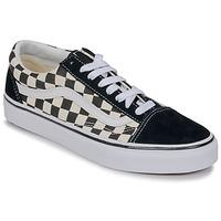Chaussures Baskets basses Vans OLD SKOOL Blanc / Noir