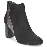 Schuhe Damen Low Boots Moony Mood JERDA Schwarz