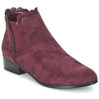 Schuhe Damen Boots Moony Mood JERMA Auberginenfarben