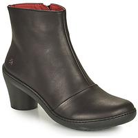 Schuhe Damen Low Boots Art ALFAMA Schwarz