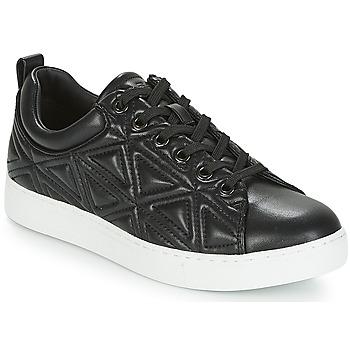 Schuhe Damen Sneaker Low Emporio Armani DELIA Schwarz