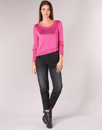 Vêtements Femme Jeans droit Diesel ALYS Noir 069BG