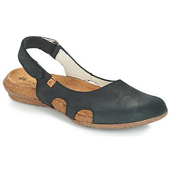 Schuhe Damen Sandalen / Sandaletten El Naturalista WAKATAUA Schwarz