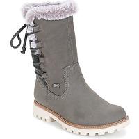 Schuhe Damen Klassische Stiefel Rieker  Grau