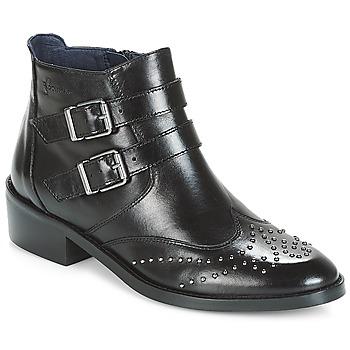 Chaussures Femme Boots Dorking CELINE Noir