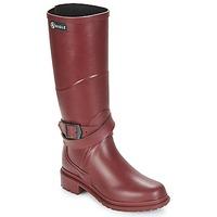 Chaussures Femme Bottes de pluie Aigle MACADAMES Bordeaux
