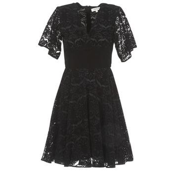 Kleidung Damen Kurze Kleider Derhy DAMOISELLE Schwarz