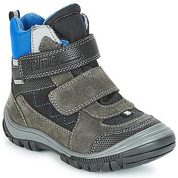 Chaussures Garçon Bottes de neige Primigi PNA 24355 GORE-TEX Gris / Bleu
