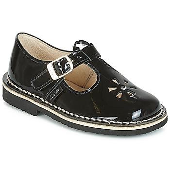 Schuhe Mädchen Ballerinas Aster DINGO Schwarz