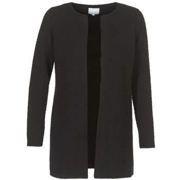 Kleidung Damen Jacken / Blazers Vila VINAJA LONG Schwarz