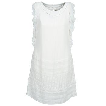 Kleidung Damen Kurze Kleider Stella Forest AUDRENE Weiß