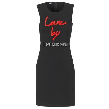 Kleidung Damen Kurze Kleider Love Moschino CARININA Schwarz