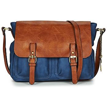 Taschen Damen Umhängetaschen Moony Mood TINA Marineblau