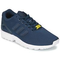 Schuhe Herren Sneaker Low adidas Originals ZX FLUX Blau / Weiss