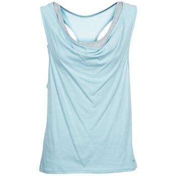 Abbigliamento Donna Top / T-shirt senza maniche Bench SKINNIE Blu