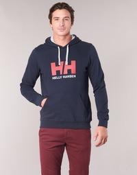 Kleidung Herren Sweatshirts Helly Hansen HH LOGO HOODIE Marine