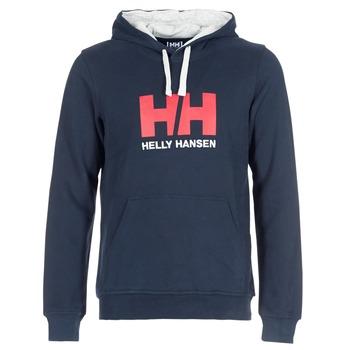 Abbigliamento Uomo Felpe Helly Hansen HH LOGO HOODIE Marine