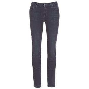 Vêtements Femme Jeans droit Lee ELLY ZIP Noir