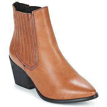 Schuhe Damen Low Boots Musse & Cloud BECKY Kognac