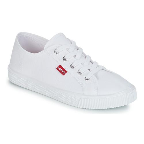Schuhe Damen Sneaker Low Levi's MALIBU BEACH S Weiß