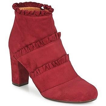 Schuhe Damen Low Boots Chie Mihara KAFTAN Bordeaux