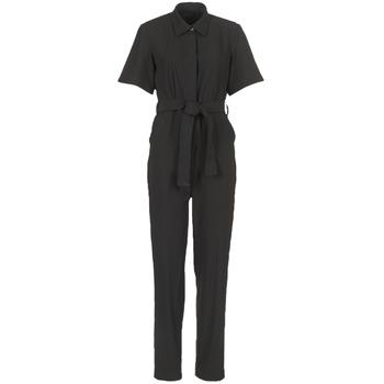 Vêtements Femme Combinaisons / Salopettes G-Star Raw BRISTUM DC JUMPSUIT Noir